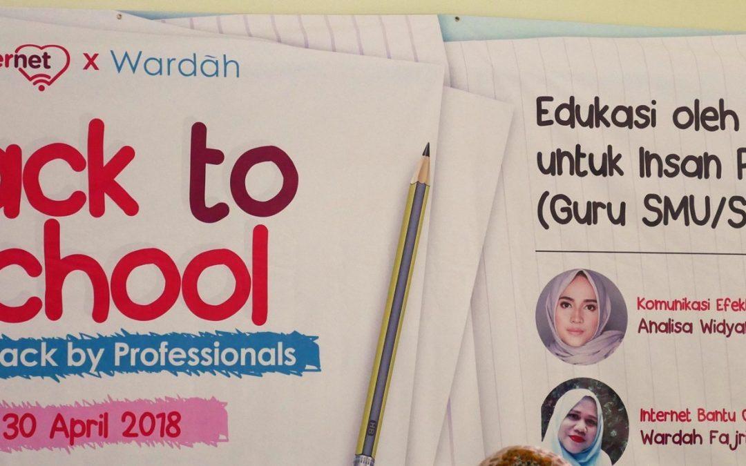 XL Bersama Wardah Cosmetics Memberikan Edukasi Perangkat Digital