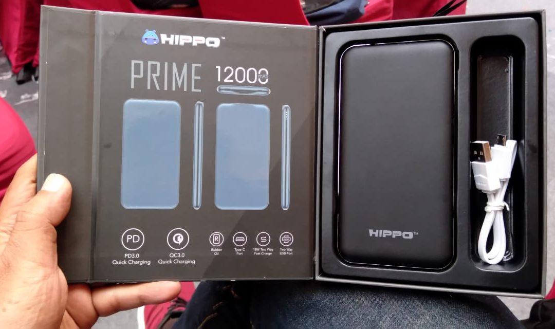 Hippo Prime Powerbank Premium dengan Garansi keren