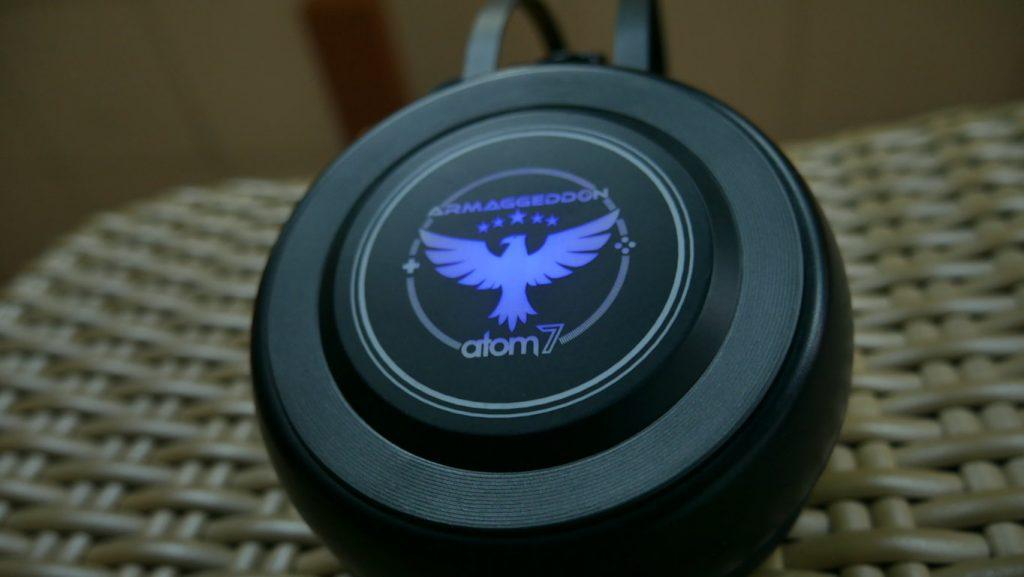 Headset Gaming Armaggeddon Atom 7 dilihat dari samping