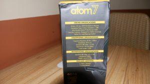 Kemasan dilihat dari samping Headset Gaming Armaggeddon Atom 7