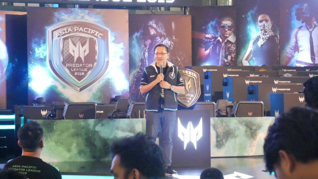 Presiden Direktur Acer Indonesia, Herbet Ang - e-sport Turnamen Predator League 2019
